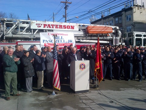 to the rescue: federal grant protects paterson fire