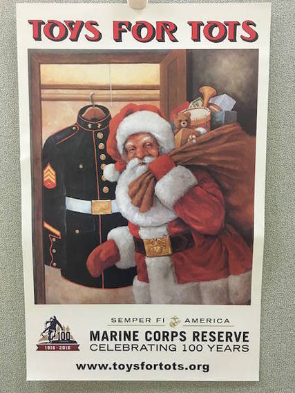 Police Toys For Tots 2017 : West essex ap art history students create murals