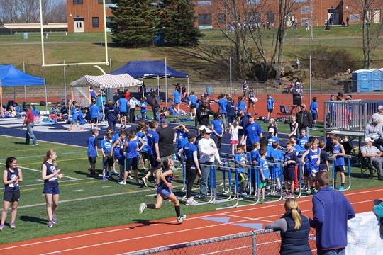 randolph high school track meet
