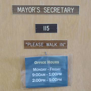 Top story 514afd42b6ad467854a7 mayors secretary door