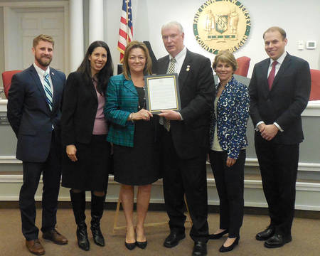 Top_story_642297d7a8b63f36e4c7_maria_plucinsky_honored_by_fair_lawn_council