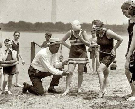 Top story 9ea1adc2b8f582e17406 june 30 1922. washington policeman bill norton swimsuits