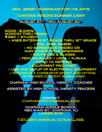 Top story 9f39037b7882ba9af7d6 chatham fencing summer camp flyer 2018 08 august