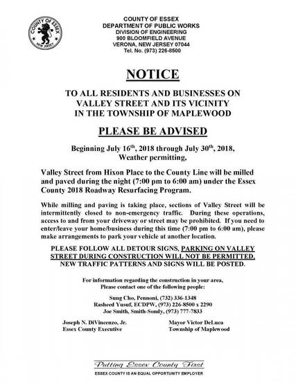 Top_story_bc49164e4b39750ff681_essex_county_notice_-_valley_street_maplewood_07-06-2018