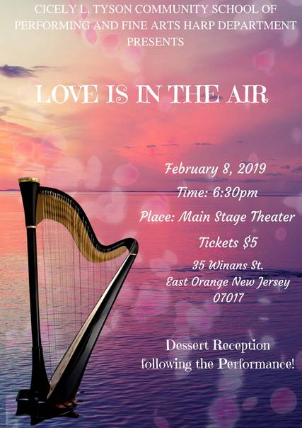 Cicely Tyson Features HARP Concert - Love Is In The Air