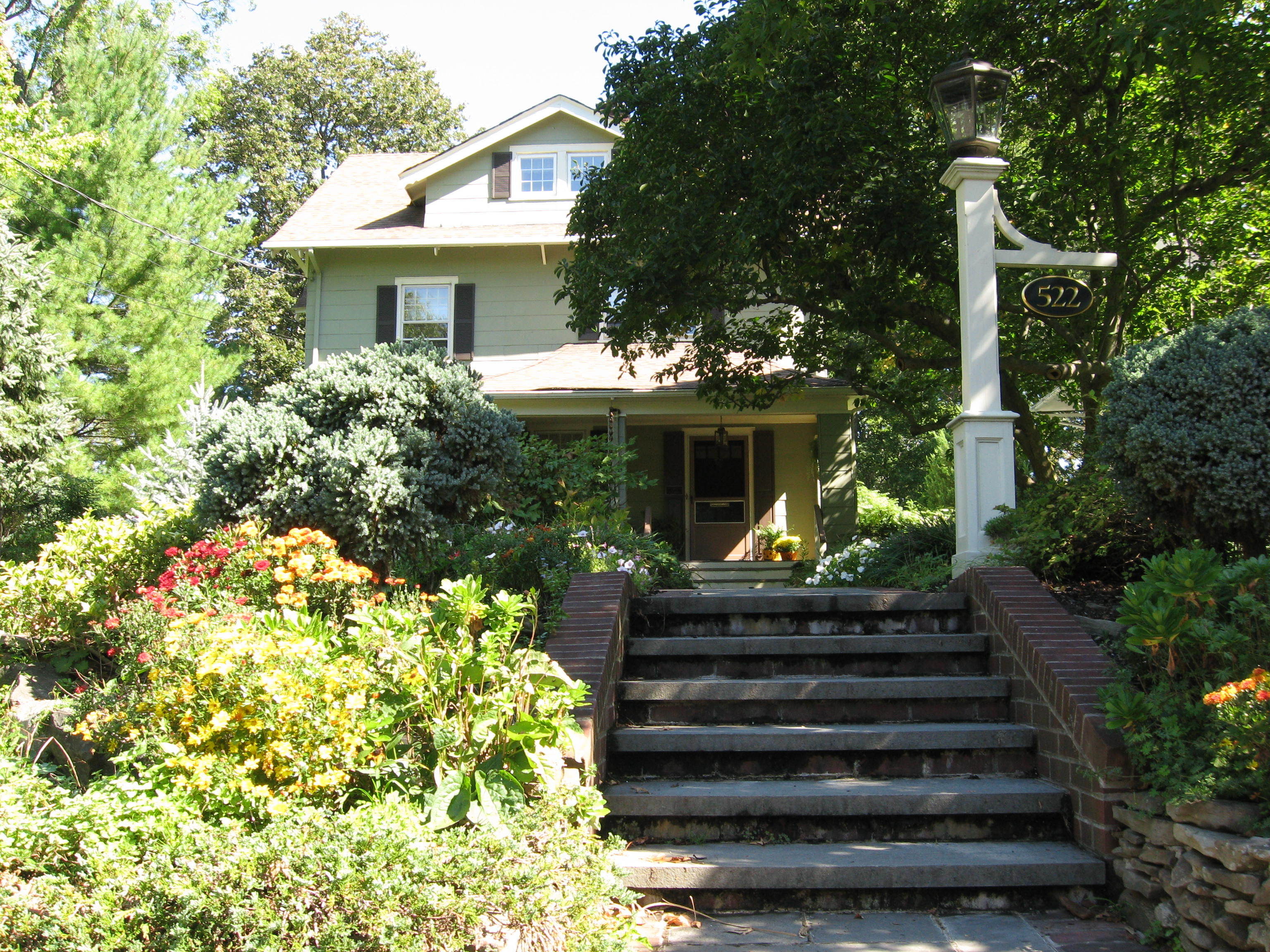 Westfield native charles addams still very much a part of for Westfield house