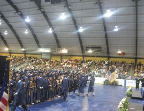 West Orange High School Graduates 487 Students Photo