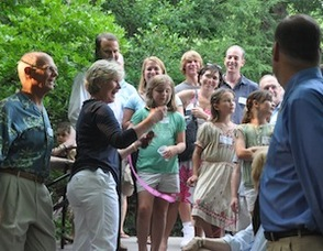 Wesson Family Nature Grove Dedicated at Reeves-Reed Arboretum Photo